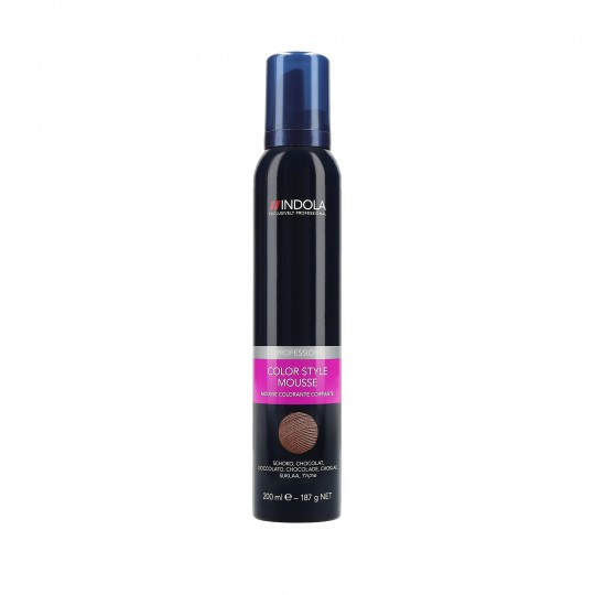 Indola Color Style Mousse de coloration 200ml - 1