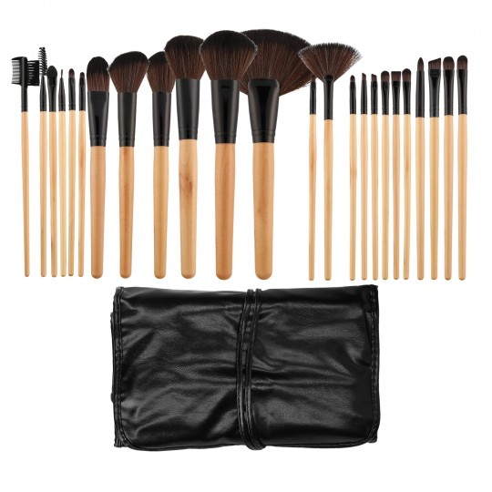 Set 24 pinceaux à maquillage