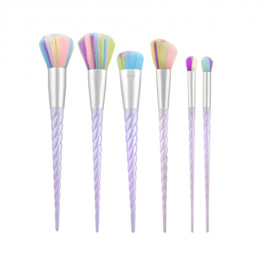 MIMO by Tools For Beauty, Set 6 Pinceaux Maquillage Licorne - 1
