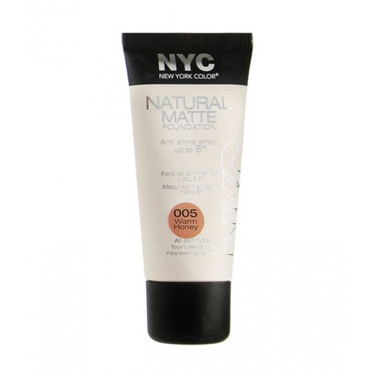 New York Color Natural Matte Fond de teint mat 30ml - 1