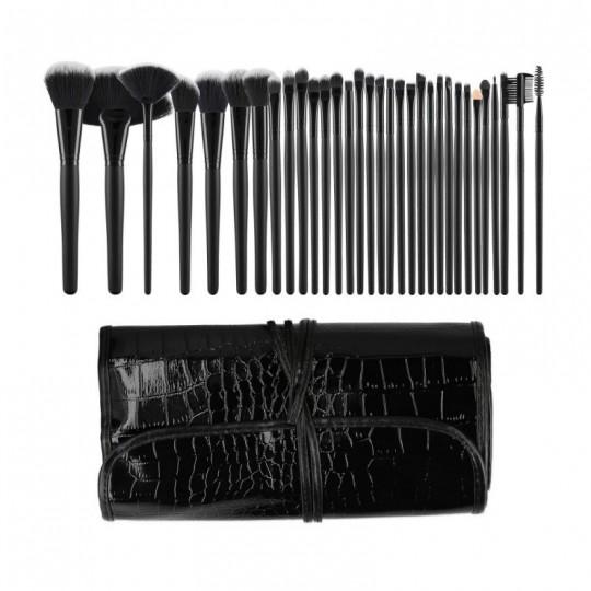 Kit 32 pinceaux à maquillage