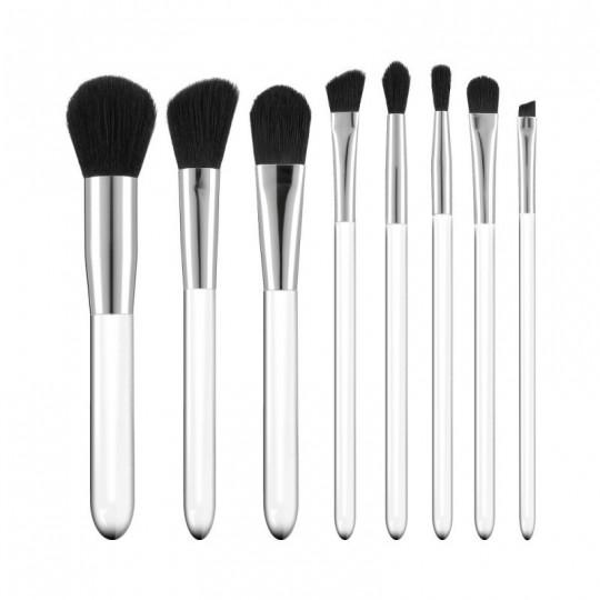 Kit 8 pinceaux à maquillage