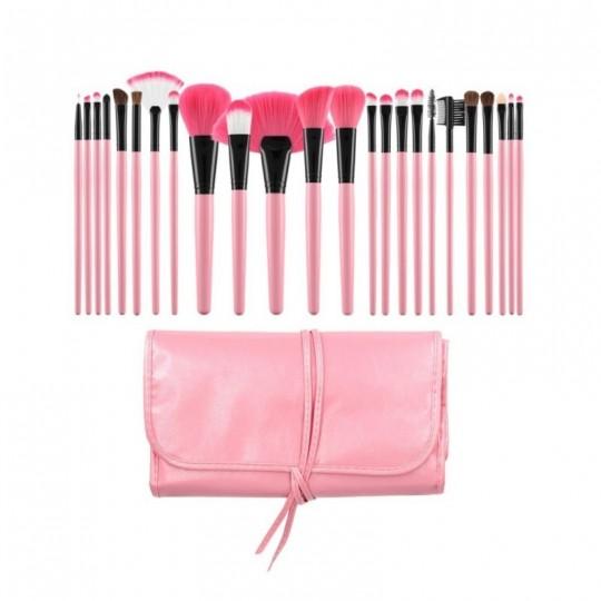 Kit 24 pinceaux à maquillage