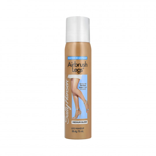 SALLY HANSEN AIRBRUSH LEGS Medium Glow Rajstopy w sprayu 75ml