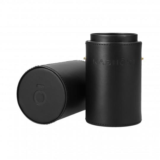 KASHOKI Tube porte-pinceaux noir