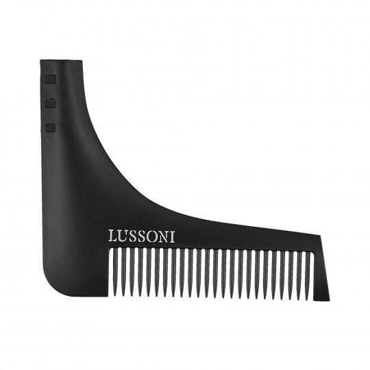 LUSSONI BC 600 Peigne multifonctionnel pour barbe