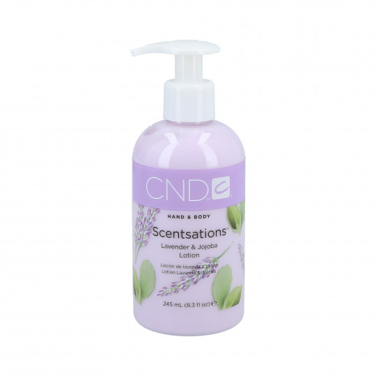 CND SCENTSATIONS Hand & Body Lotion mains et corps Lavande & Jojoba 245ml