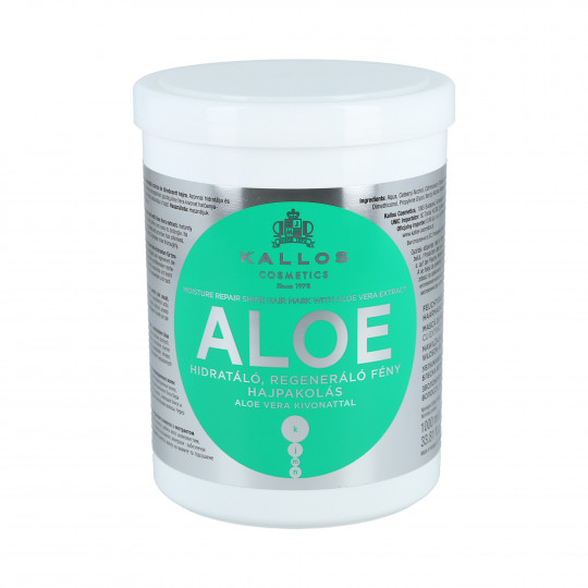 KALLOS Aloe Masque hydratant 1000ml - 1