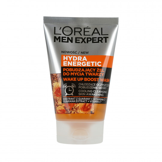 L'OREAL PARIS MEN EXPERT Hydra Energetic Gel nettoyant visage 100ml
