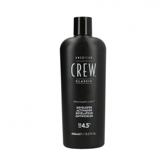 AMERICAN CREW Precision Blend Revelateur 4,5% (15 Vol.) 450ml - 1