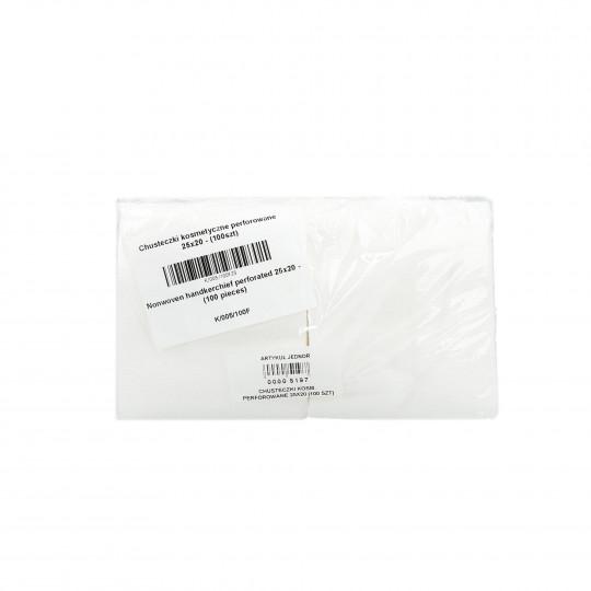 Eko - Higiena Mouchoirs cosmétiques perforés rouleau 25x20cm (100 pcs)