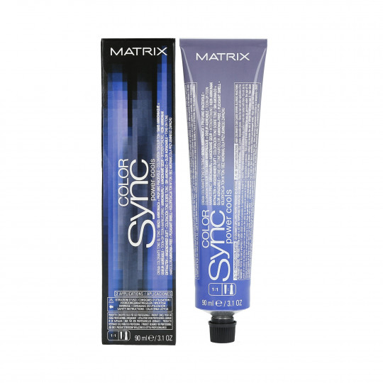 MATRIX COLOR SYNC POWER COOLS Coloration en crème ton sur ton de 90ml