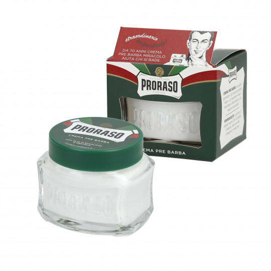 PRORASO GREEN LINE PRE-SHAVING CREAM 100ML