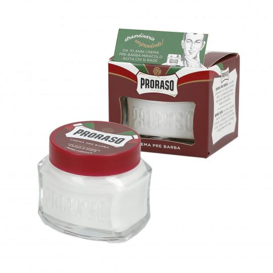 PRORASO RED Crème de rasage nourrissante 100ml