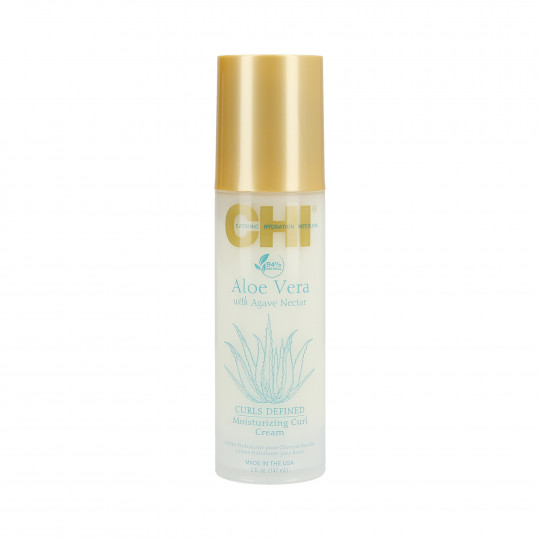 CHI ALOE VERA Crème hydratante à l'aloe Vera pour cheveux bouclés 147ml - 1