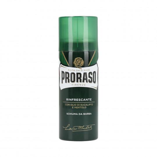 PRORASO GREEN Mousse à raser rafraîchissante 50ml