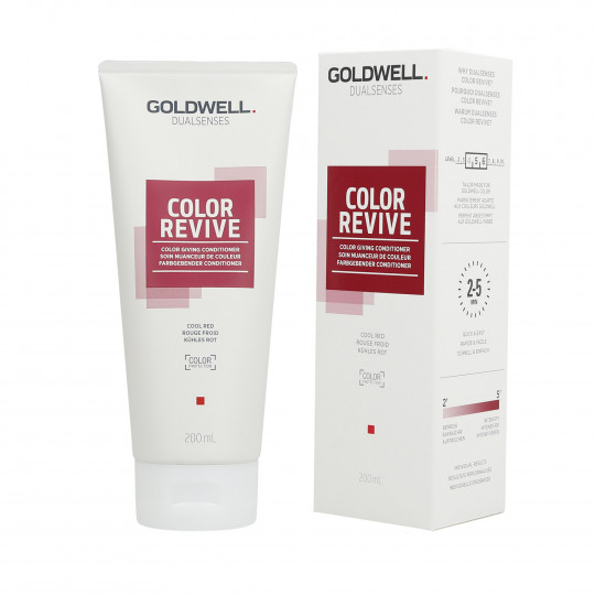 GOLDWELL DUALSENSES COLOR REVIVE Soin Nuanceur de Couleur Cool Red 200ml - 1