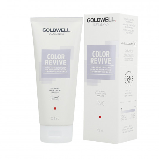GOLDWELL DUALSENSES COLOR REVIVE Soin Nuanceur de Couleur Icy Blonde 200ml - 1