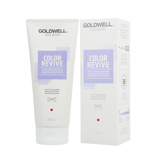 GOLDWELL DUALSENSES COLOR REVIVE Soin Nuanceur de Couleur Light Cool Blonde 200ml - 1