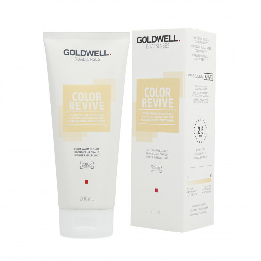 GOLDWELL DUALSENSES COLOR REVIVE Soin Nuanceur de Couleur Light Warm Blonde 200ml - 1