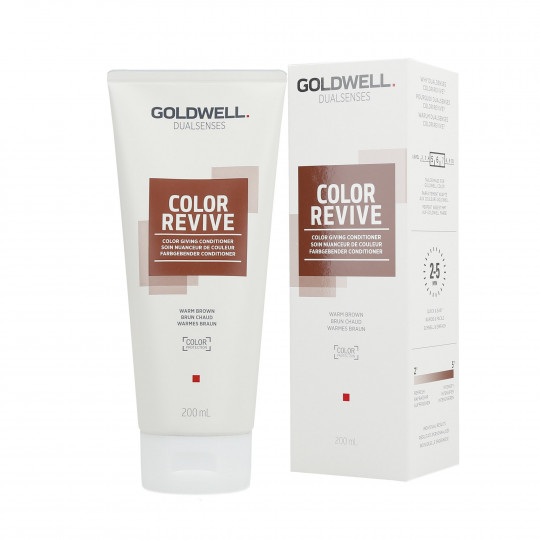 GOLDWELL DUALSENSES COLOR REVIVE Soin Nuanceur de Couleur Warm Browm 200ml - 1