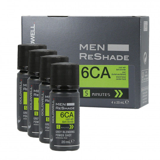 MEN RE-SHADE 6CA 4X20ML