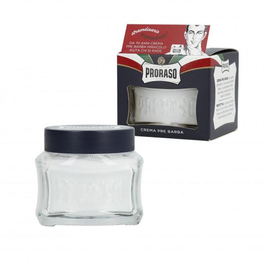 PRORASO BLUE Crème avant rasage Hydratante 100ml