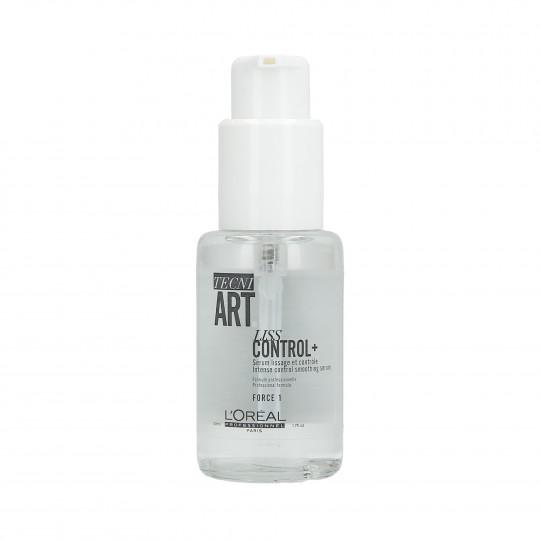 L'OREAL PROFESSIONNEL TECNI.ART Liss Control+ Sérum Lissage et Contrôle pour Cheveux 50ml