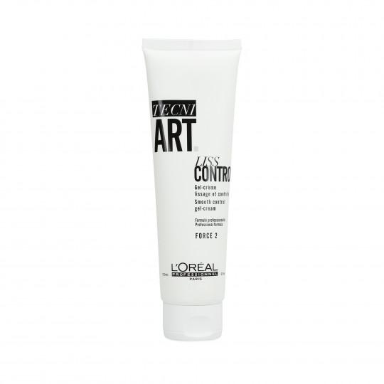 L'OREAL PROFESSIONNEL TECNI.ART Liss Control Gel-Crème Lissage et Contrôle pour Cheveux 150ml - 1