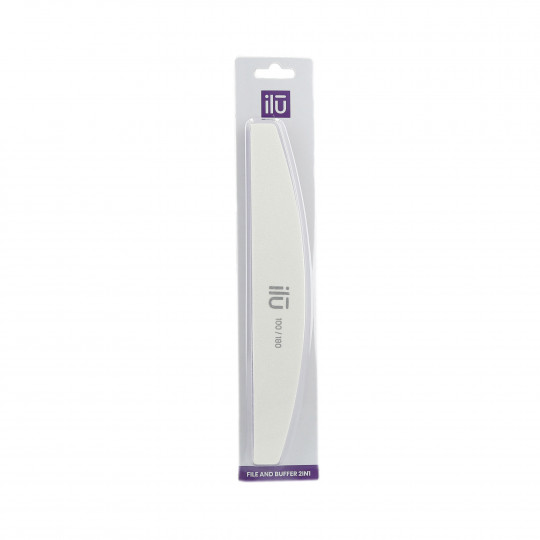 ILU BRIDGE WHITE FILE PURPLE SPONGE 180/100