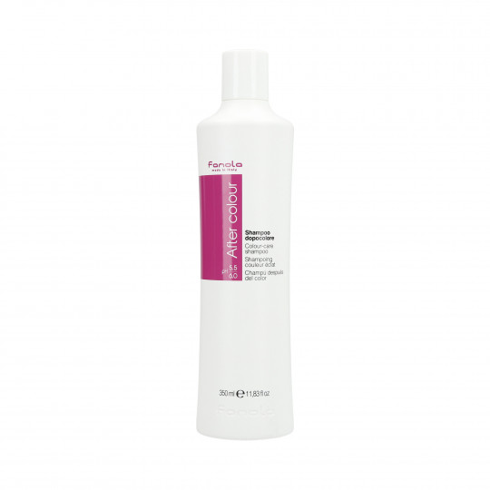 FANOLA AFTER COLOUR Shampooing cheveux teints 350ml