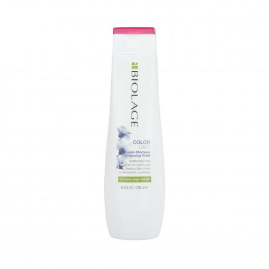 BIOLAGE COLORLAST Shampooing Violet pour cheveux blonds 250ml - 1