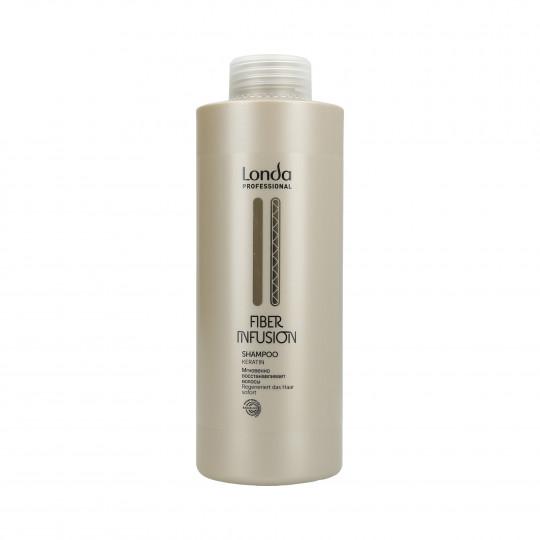 LONDA FIBER INFUSION Shampooing régénérant à la kératine 1000ml - 1