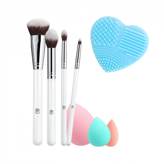ilū by Tools For Beauty, Perfect Pick Up - Set de pinceaux à maquillage - 1