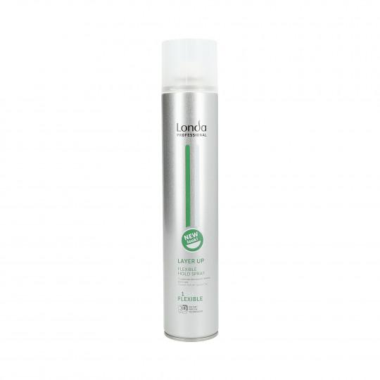LONDA STYLING Layer Up Hairspray avec fixateur de cheveux élastique 500ml - 1