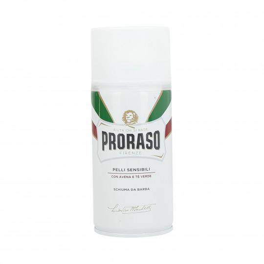 PRORASO WHITE Mousse à raser apaisante 300ml
