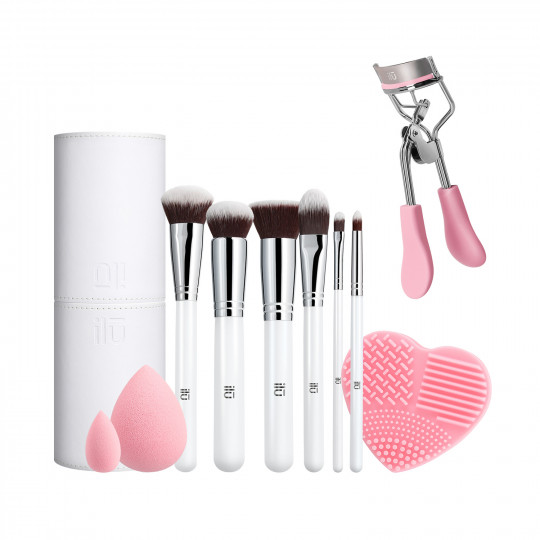 ilū by Tools For Beauty, Pink Is An Attitude - Set de pinceaux à maquillage - 1