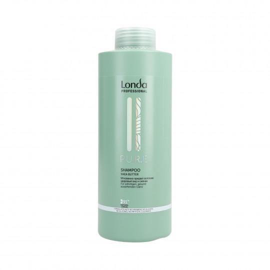 LONDA PURE Shampooing pour cheveux secs 1000ml - 1
