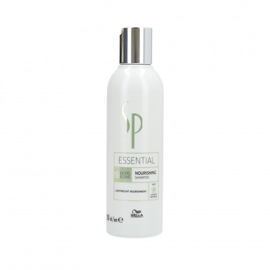 WELLA SP ESSENTIAL Nourishing Shampooing cheveux nourrissant 200ml - 1