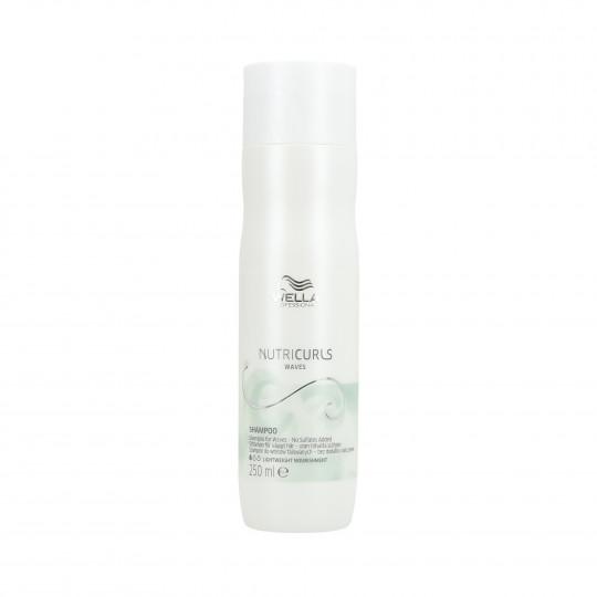 WELLA PROFESSIONALS NUTRICURLS Waves Shampooing pour cheveux ondulés 250ml - 1