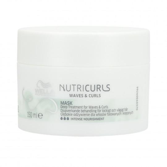 WELLA PROFESSIONALS NUTRICURLS Masque pour cheveux bouclés 150ml - 1