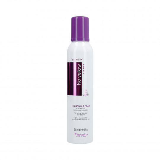 FANOLA NO YELLOW MOUSSE CONDITIONER 250ML