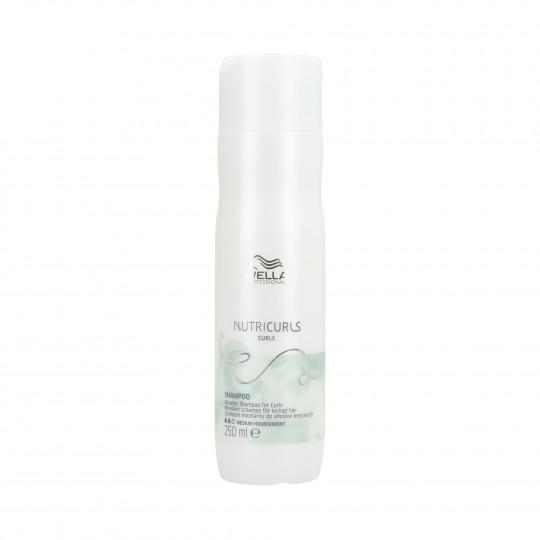 WELLA PROFESSIONALS NUTRICURLS Shampooing pour cheveux bouclés 250ml - 1