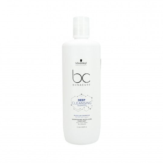 SCHWARZKOPF PROFESSIONAL BC DEEP CLEANSING Shampooing démaquillant 1000ml - 1