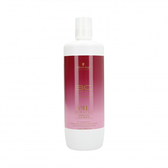SCHWARZKOPF PROFESSIONAL BC OIL MIRACLE Brazilnut Oil Shampooing pour les cheveux 1000ml - 1