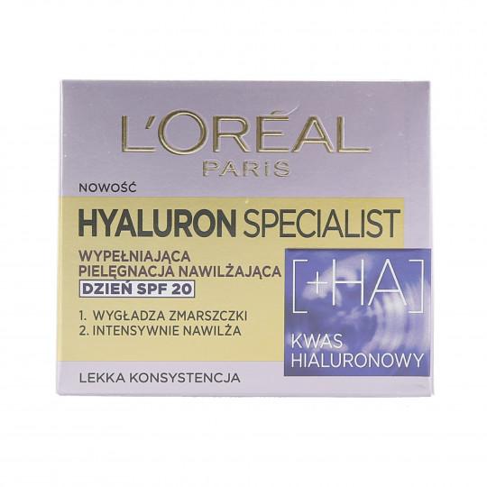 L'OREAL PARIS HYALURON SPECIALIST Crème de jour pour le visage SPF20 50ml - 1