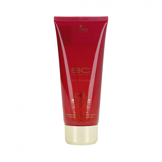 SCHWARZKOPF PROFESSIONAL BC OIL MIRACLE Brazilnut Oil Shampooing pour les cheveux 200ml