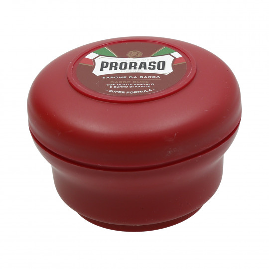 PRORASO RED LINE SHAVING SOAP IN A JAR 150ML