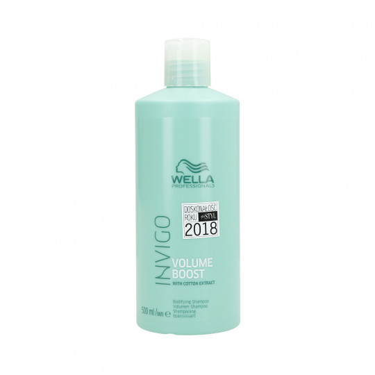 WELLA PROFESSIONALS INVIGO VOLUME BOOST Shampooing pour cheveux fins 500ml - 1
