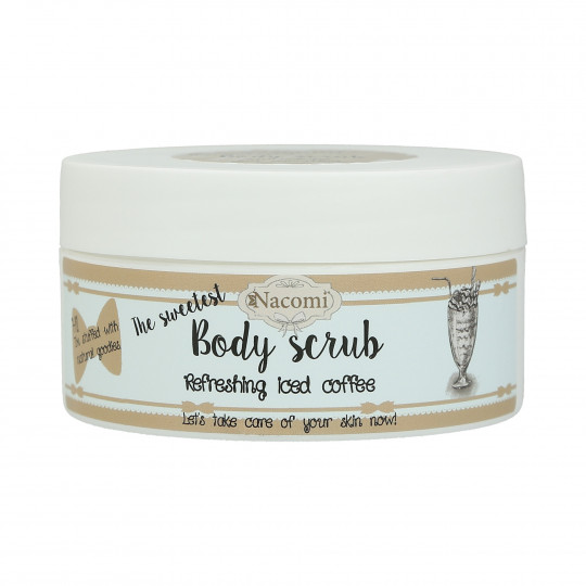 NACOMI The Sweetest Body Scrub – Gommage amincissant corps café 125g - 1
